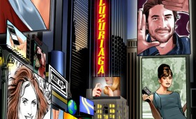Times Square Way Art Promo